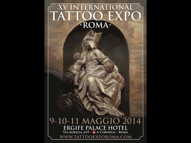 XV International Tattoo Expo Roma - www.HTO.tv