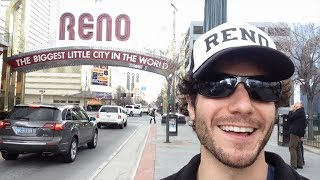 Overly Excited Tourist Finds Reno's Secret Wonders