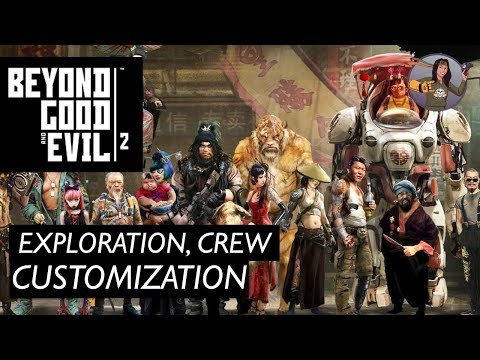 Beyond Good and Evil 2 | Exploration, Crew & Character Customization