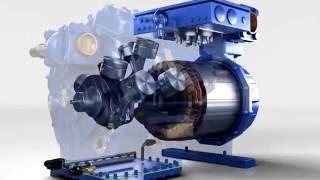 Перемотка электродвигателя (винтового и поршневого) компрессора.(Спец сервис по ремонту промышленных холодильных компрессоров (перемотка электродвигателей поршневых..., 2016-10-06T07:42:25.000Z)
