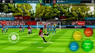 HOW RONALDINHO ICON SCORES UNIQUE STYLE GOALS/FREE KICKS/PENALTIES in fifa mobile - Gameplay Review