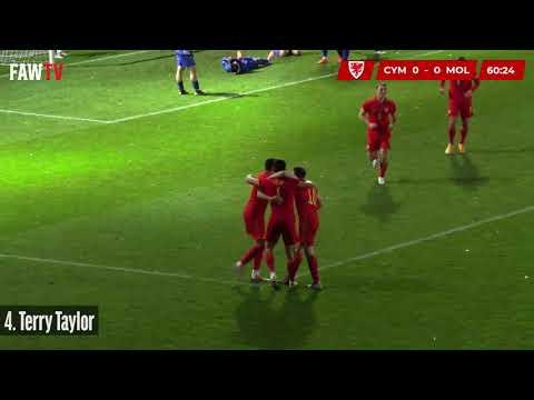 #U21EURO Cymru 3-0 Moldova - Goals and reaction