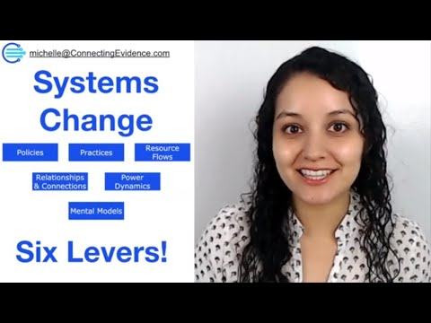 Systems Change: The 6 Levers