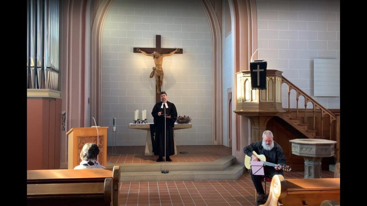 Gottesdienst an Karfreitag aus der Evang. Kirche in