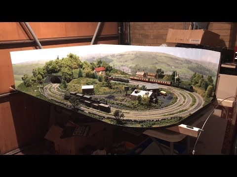 Hornby Trakmat Layout – Model Railway
