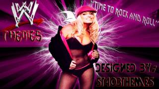 "Trish Stratus 3rd WWE Theme Song ""Time to Rock and Roll"""