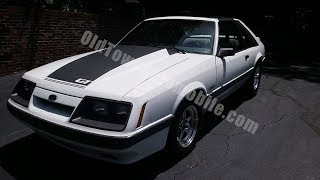 1985 Ford Mustang GT for sale Old Town Automobile in Maryland