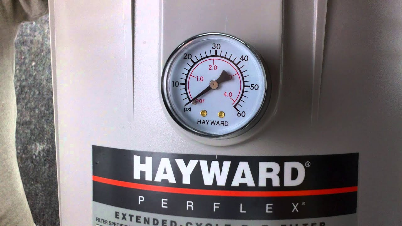 Pool Filter Pump Pressure How To Change The Hayward Ec40 Pool Filter Gauge Youtube