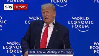 President Trump's 'great American comeback' at the World Economic Forum