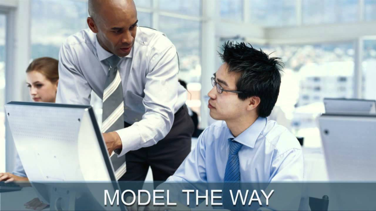 Executive Training Series - What Leaders Do - Model The Way - YouTube