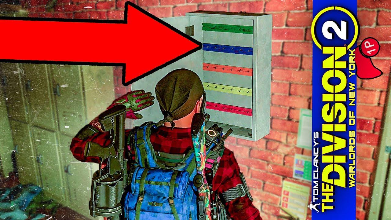 Division 2 Schlüssel