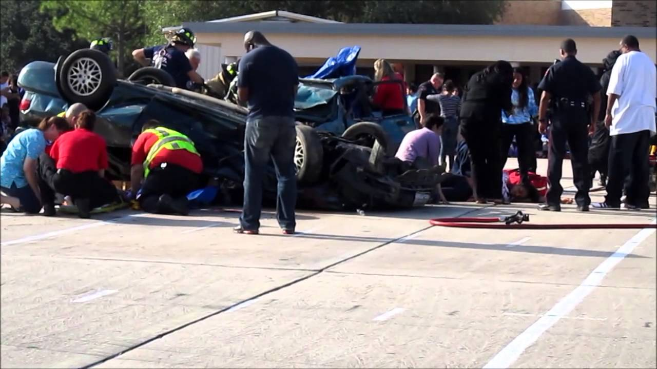 shattered dreams drunk driving klein forest high school - YouTube