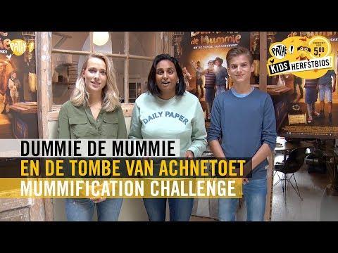 Dummie de Mummie en de Tombe van Achnetoet - Mummification Challenge - Pathé