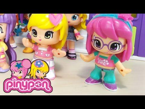 MONDO PINYPON italiano, Ep. 3 giochi per bambine, divertiamoci con la moda e 20 pinypon!