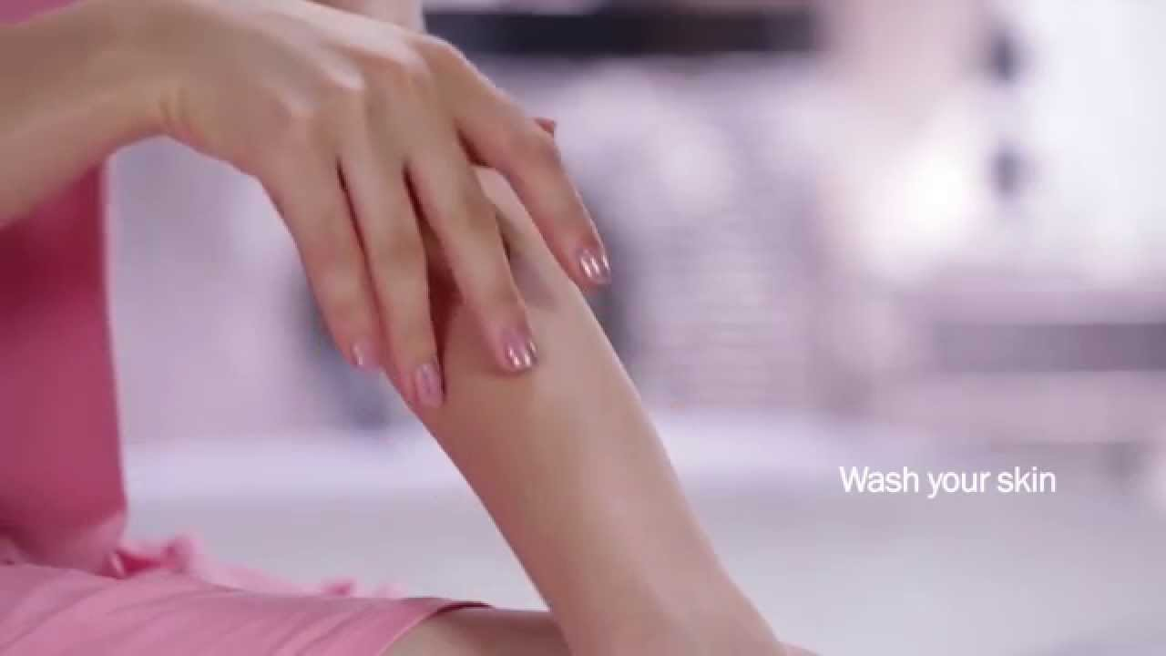 Demo Video for using Veet Wax Strips for Arms