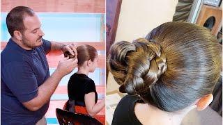 Simple Braided Bun | Daddy 'Do Hairstyles