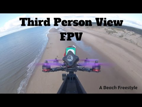 Third Person View FPV MiniQuad Flying - QAV210