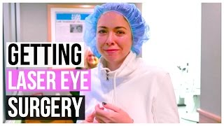 GETTING LASER EYE SURGERY!