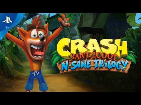 Crash Bandicoot N. Sane Trilogy - PlayStation Experience 2016: The Come Back Trailer | PS4