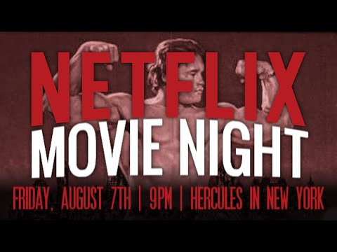 NETFLIX MOVIE NIGHT: Hercules in New York & Bloodsport