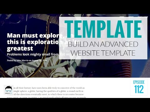 How to Build an Advanced Website Template Using PHP and Boot