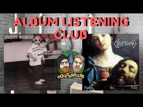 Album Club - Brent Mason & Cryptopsy - #GuitArsoles Podcast Episode 8