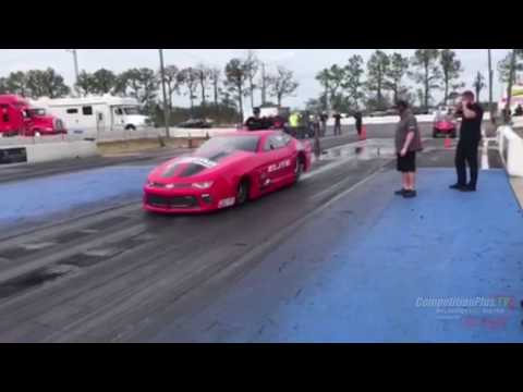 2-TIME NHRA CHAMP ERICA ENDERS MAKING RUNS IN NEW PRO MOD ENTRY