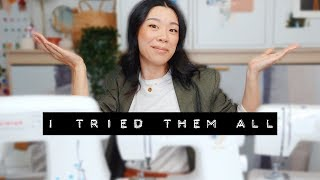Sewing machines (watch before you buy) | SEW IT BEGINS EP 2