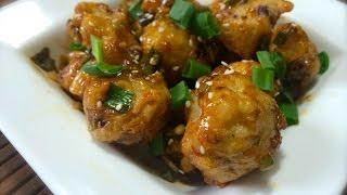 Crispiest Gobi Manchurian Restaurant Style   Cauliflower Manchurian
