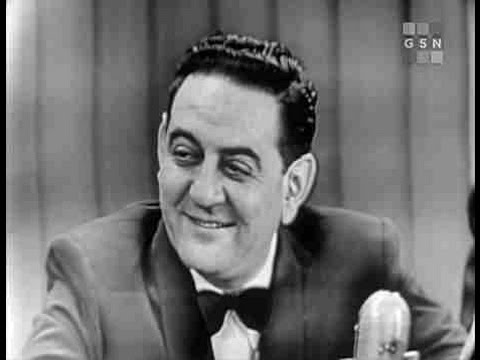 What's My Line? - Guy Lombardo; Betty Furness & Garry Moore [panel] (Dec 31, 1950)