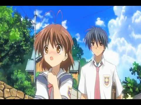 Clannad Nagisa And Tomoya Trying To Hold Hands Youtube
