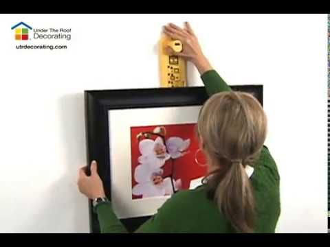 How to Hang a Group of Pictures with Hang & Level™ - YouTube