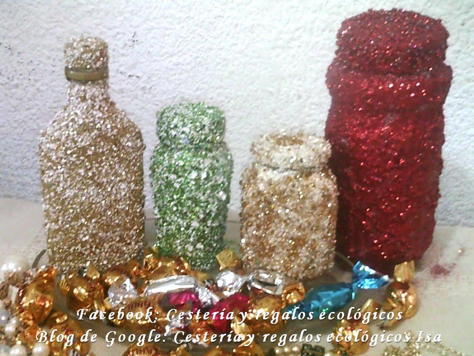 Frascos de vidrio decorados diy decoration of glass - Diy frascos decorados ...