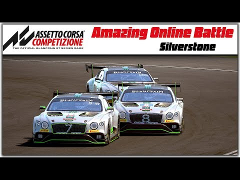Amazing Online Battle With Egor SimRacer In Assetto Corsa Competizione.