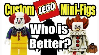 LEGO IT Clown Custom Minifigures 2017