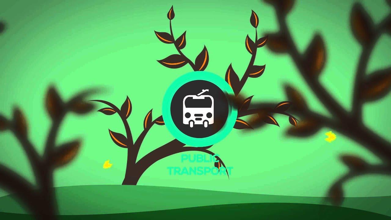 Om Animation Wallpaper Public Transport 2d Animation 1080p Youtube