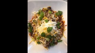 QUICK & EASY DELICIOUS CHILI