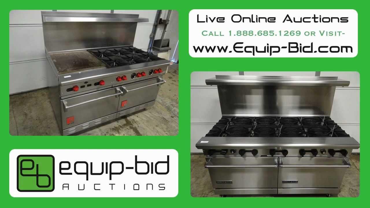 Restaurant Kitchen Auctions equip-bid online auctions - restaurant equipment - restaurant