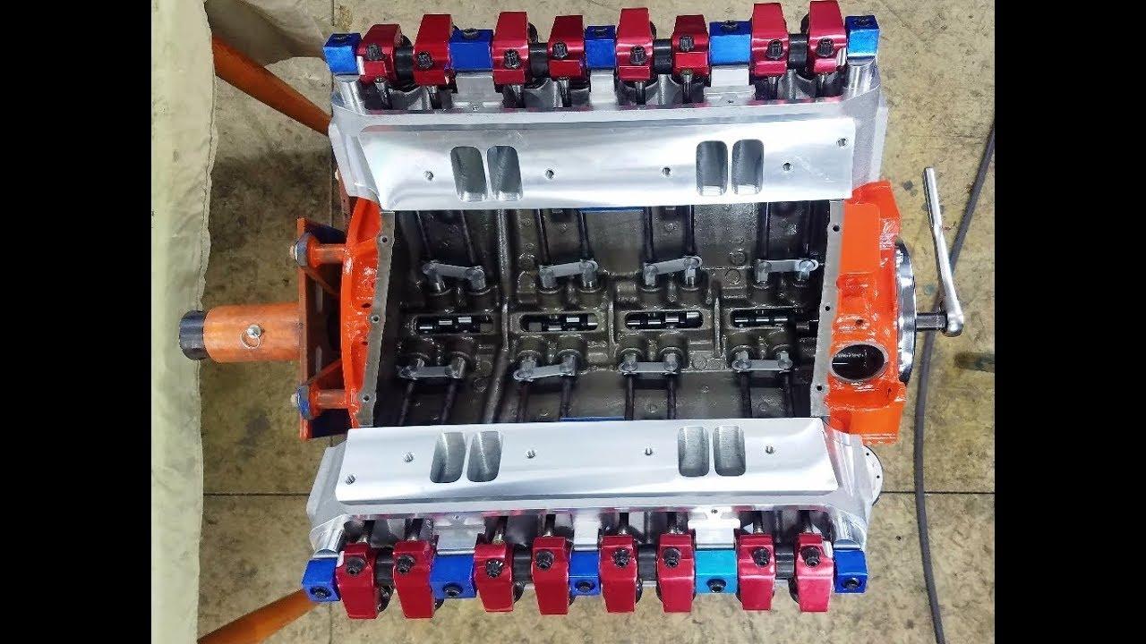 440 Chrysler Mopar Part 9 - Installing Roller Hydraulic Lifters, Pushrods,  Rockers & Setting Lash