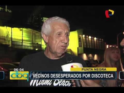 Malestar de vecinos por discoteca en Punta Negra (1/2)