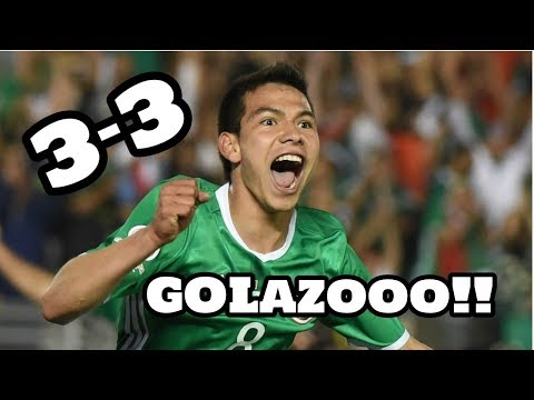Mexico vs Belgium Highlights 3-3