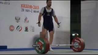 Чемпионат России по тяжелой атлетике 2013 Казань до 94 кг