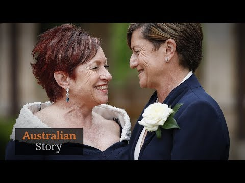 Inside Tony Abbott's sister Christine Forster's same-sex marriage to partner Virginia Flitcroft