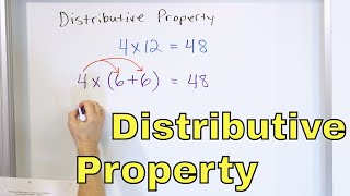 23 - The Dİstributive Property - Definition & Meaning