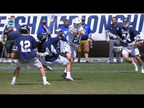 The Biggest Hits From The 2019 NCAA Lacrosse Season
