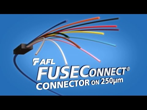 Splicing FUSEConnect® connectors onto 250 micron fiber