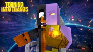 minecraft how to be thanos in minecraft