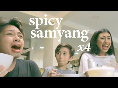 SAMYANG X 4 CHALLENGE!!! (NOT CLICKBAIT TBH) + FATIN FEISAL
