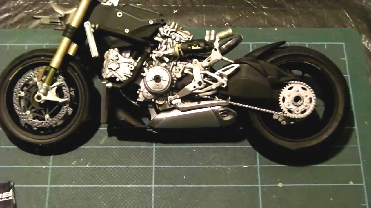 Build Pt 4 Tamiya Ducati Panigale 1199 S Youtube Scale Kits