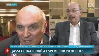 Joaquín Morales Solá: ¿Asseff traicionó a Espert por Pichetto?